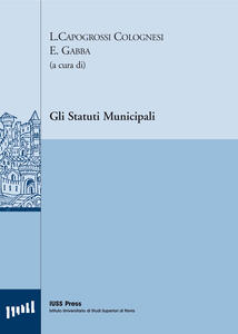 Gli statuti municipali. Ediz. multilingue