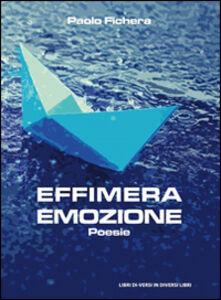 Effimera emozione