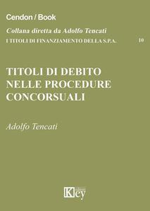 Titoli di debito nelle procedure concorsuali