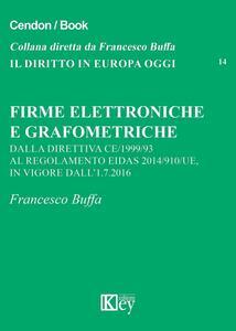 Firme elettroniche e grafometriche