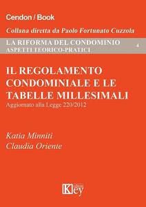 Il regolamento condominiale e le tabelle millesimali