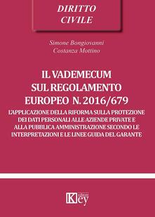 Capturtokyoedition.it Il vademecum sul regolamento europeo n. 2016/679 Image