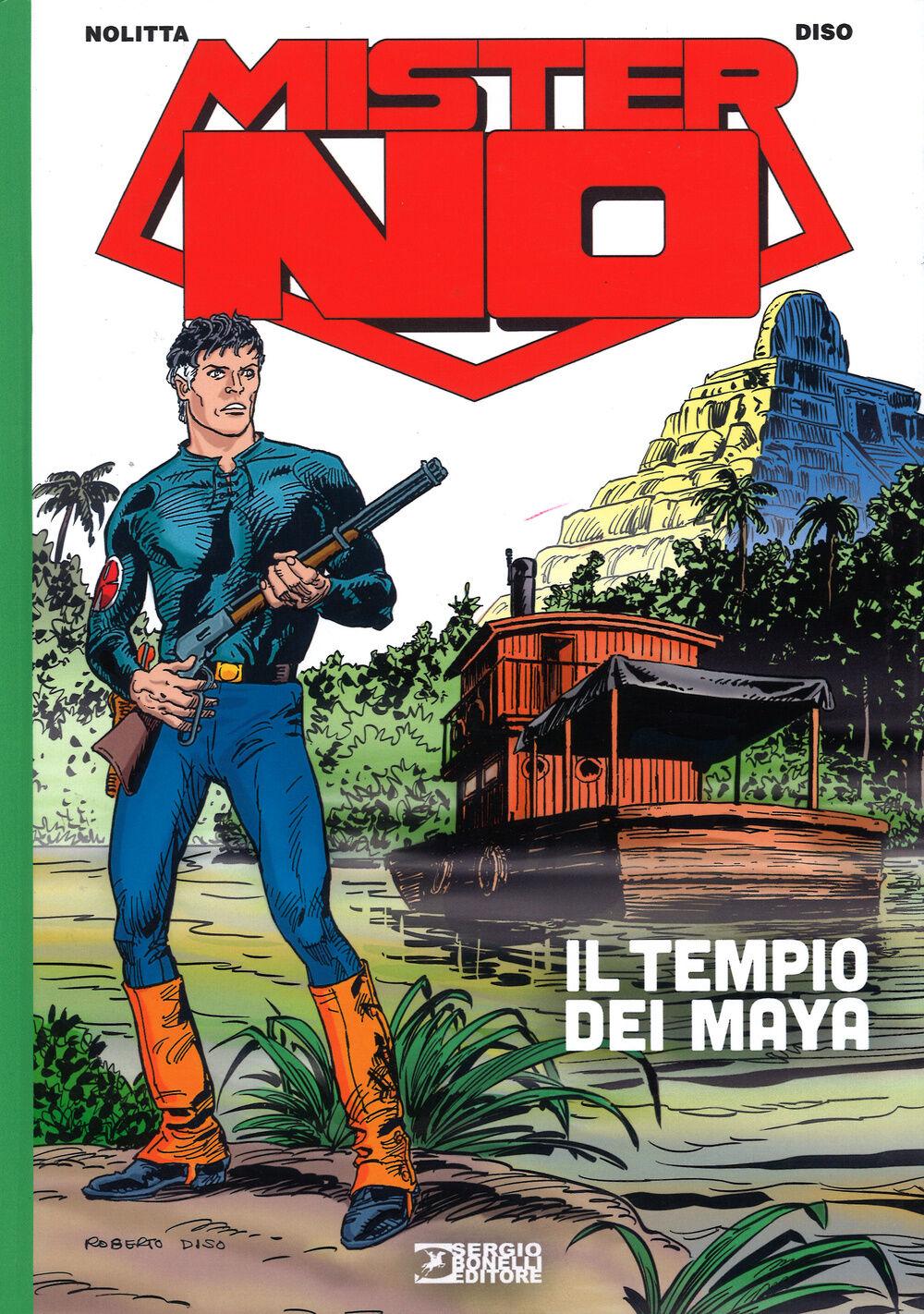 Il tempio dei Maya. Mister No