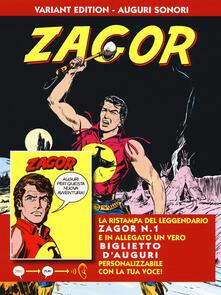 Daddyswing.es Zagor. Ediz. variant auguri sonori. Con gadget. Vol. 1 Image