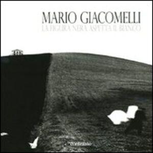 Libro La figura nera aspetta il bianco Mario Giacomelli