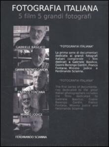 Fotografia italiana. 5 film 5 grandi fotografi: Gabriele Basilico-Gianni Berengo Gardin-Franco Fontana-Mimmo Jodice-Ferdinando Scianna. 5 DVD - copertina