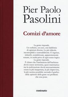 Comizi d'amore - Pier Paolo Pasolini - copertina