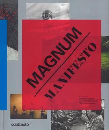 Magnum manifesto. Ediz. illustrata - copertina
