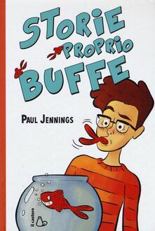 Storie proprio buffe - Paul Jennings - copertina
