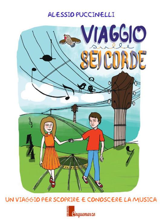 Viaggio sulle sei corde - Alessio Puccinelli - copertina