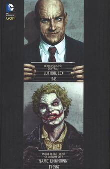 Luthor. Jocker - Brian Azzarello,Lee Bermejo - copertina