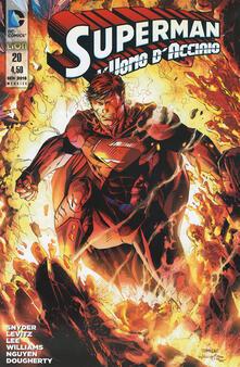 Radiospeed.it Superman. L'uomo d'acciaio. Vol. 20 Image