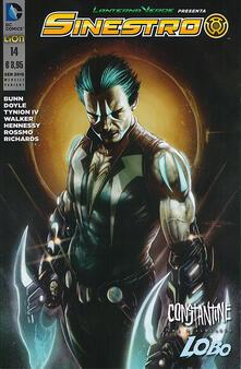 Steamcon.it Lanterna verde presenta: Sinestro. Variant Lobo. Vol. 14 Image