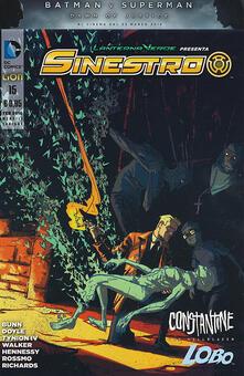 Librisulladiversita.it Lanterna verde presenta: Sinestro. Variant. Vol. 15 Image