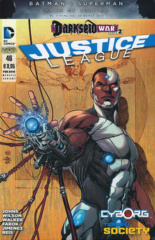 Amatigota.it Justice league. Variant cyborg. Vol. 46 Image