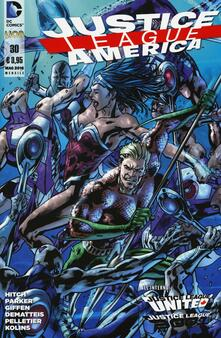 Osteriamondodoroverona.it Justice League America. Vol. 30 Image