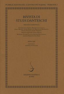 Milanospringparade.it Rivista di studi danteschi (2019). Vol. 1 Image