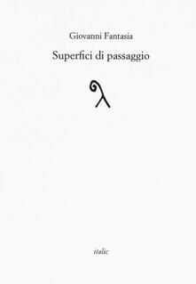 Superfici di passaggio - Giovanni Fantasia - copertina