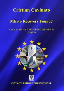 Osteriacasadimare.it MES o Recovery Found? Conte ha MESso il recupero dell'Italia in fondo Image