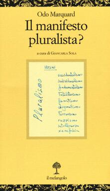 Cocktaillab.it Il manifesto pluralista? Image