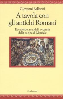 Aboutschuster.de A tavola con gli antichi romani. Eccellenze, scandali, oscenità della cucina di Marziale Image