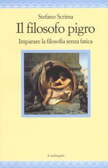 Nicocaradonna.it Il filosofo pigro. Imparare la filosofia senza fatica Image