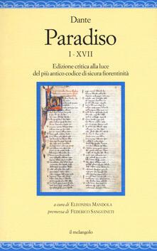 Paradiso I-XVII. Edizione critica alla luce del più antico codice di sicura fiorentinità.pdf