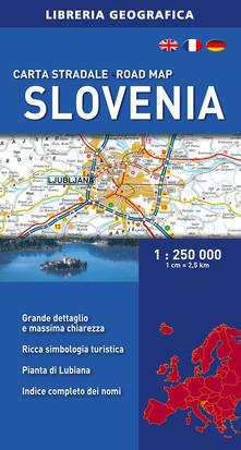 Tegliowinterrun.it Slovenia 1:250.000 Image