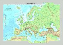 Europa Fisica Cartina Da Stampare.Online Pdf Europa Fisica E Politica
