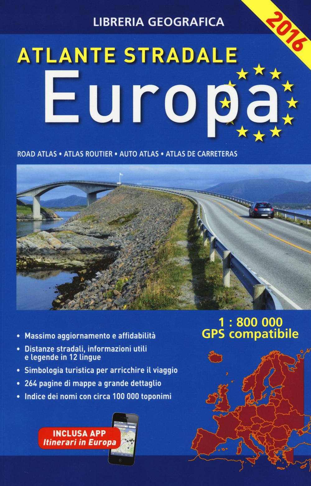 Image of Atlante stradale. Europa 1:800.000