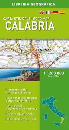 Tegliowinterrun.it Calabria 1:200.000 Image