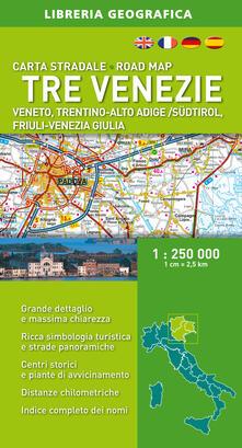 Grandtoureventi.it Tre Venezie 1:250.000 Image