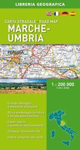 Marche-Umbria 1:200.000