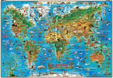 Listadelpopolo.it Animali dal mondo. Geoposter Image