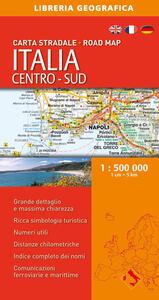 Italia. Centro-sud 1:500.000