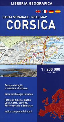 Tegliowinterrun.it Corsica 1:200.000 Image