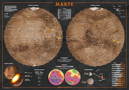 Marte. Geoposter