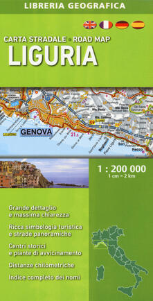 Letterarioprimopiano.it Liguria 1:200.000 Image