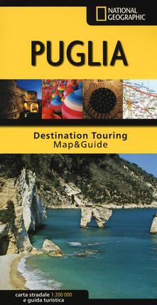 Winniearcher.com Puglia. Carta stradale e guida turistica 1:200.000 Image