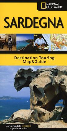 Steamcon.it Sardegna. Carta stradale e guida turistica. 1:200.000 Image
