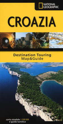 Grandtoureventi.it Croazia. Carta stradale e guida turistica. 1:200.000 Image