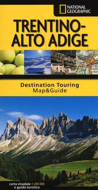 Cartina Stradale Trentino.Trentino Alto Adige Carta Stradale E Guida Turistica Libro Libreria Geografica Destination Touring Map Guide Ibs