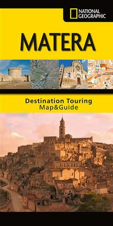 Tegliowinterrun.it Matera. Carta stradale e guida turistica. 1:200.000 Image