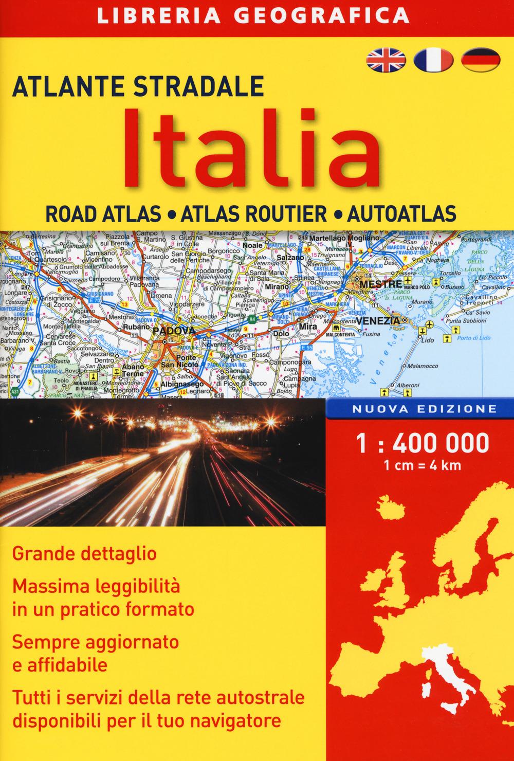 Image of Atlante stradale Italia 1:400.000
