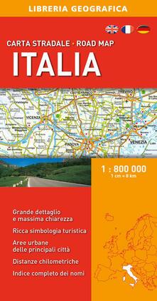 Tegliowinterrun.it Italia 1:800.000. Carta stradale Image
