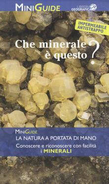 Camfeed.it Che minerale è questo? Image