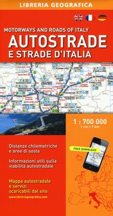 Premioquesti.it Autostrade e strade d'Italia 1:700.000 Image