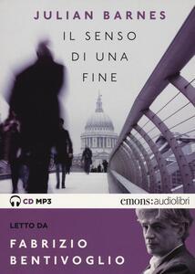 Il senso di una fine letto da Sergio Rubini. Audiolibro. CD Audio formato MP3