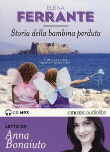 Atomicabionda-ilfilm.it Storia della bambina perduta. L'amica geniale letto da Anna Bonaiuto. Audiolibro. 2 CD Audio formato MP3. Ediz. integrale. Vol. 4 Image