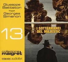 Radiospeed.it I sotteranei del Majestic letto da Giuseppe Battiston. Audiolibro. CD Audio formato MP3 Image
